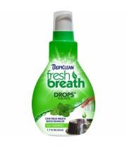 TROPICLEAN FRESH BREATH DROPS 65 ml.