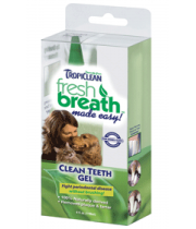 TROPICLEAN FRESH BREATH CLEAN TEETH GEL - dantų gelis 59 ml.