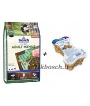 Bosch ADULT MENUE 3kg + Goodies Vitality 450g