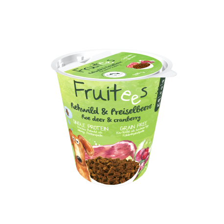 Fruitees Roe Deer & Cranberrys  200g