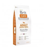 BRIT CARE ADULT MEDIUM BREED LAMB & RICE 12kg.