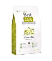 BRIT CARE ADULT SMALL BREED LAMB & RICE 7.5kg.