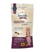 Sanabelle Crispies Chicken & Beetroot 55g