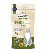 Sanabelle Crispies Chicken & Spinach 55g